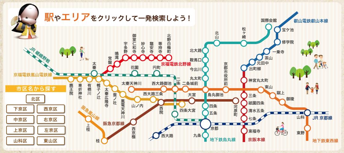 京都でお部屋探しの方はキンキホーム京都まで